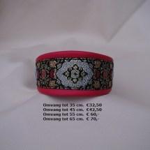 fleurige halsband, kleurrijke halsband, halfcheck