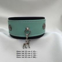 Halsband, windhond hander, hanger, galgo, whippet