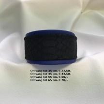 kobalt blauwe halsband, blauw, slangenleer, slangenprint
