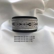 chique halsband, zwarte, zilveren halsband, zilver, elementen
