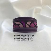 paarse halsband, klasieke halsband