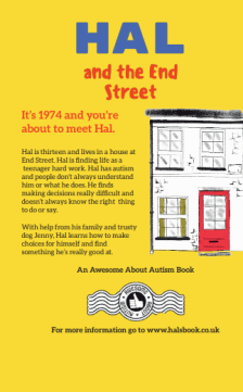 Hal and the End Street book Back Cover and blurb