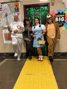 Halloween Yellow Brick Road