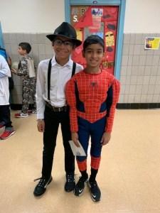 Halloween Spider man