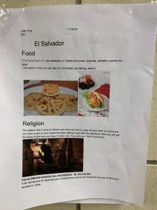 Cultural Posters - El Salvador