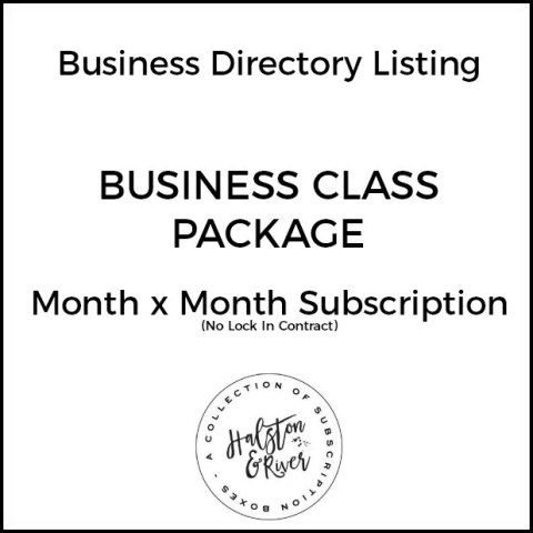 business class business directory listing package month x month