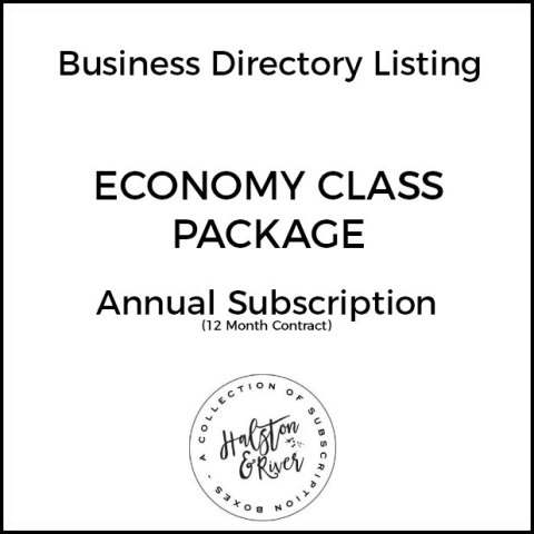 economy class business directory listing package 12 month