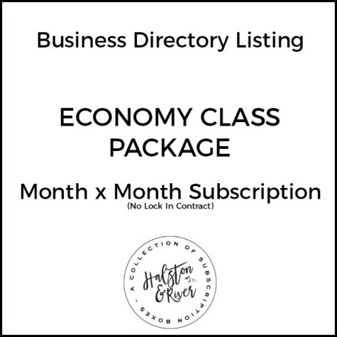 economy class business directory listing package month x month 1