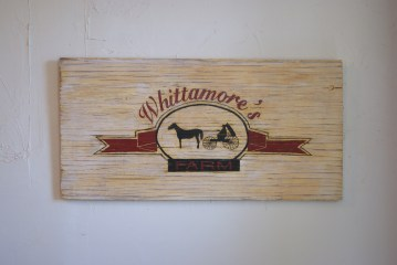 CUSTOM WHITTAMORE'S SIGN