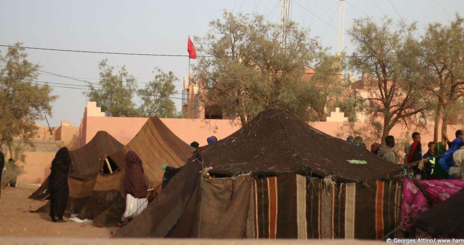 La tente, le domicile fixe du nomade