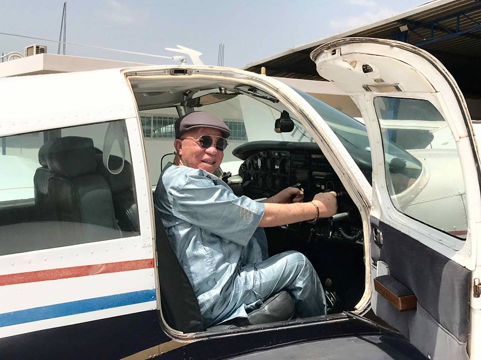 Salif keïa avion