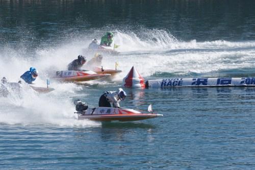 ボートレース浜名湖 レースの様子
