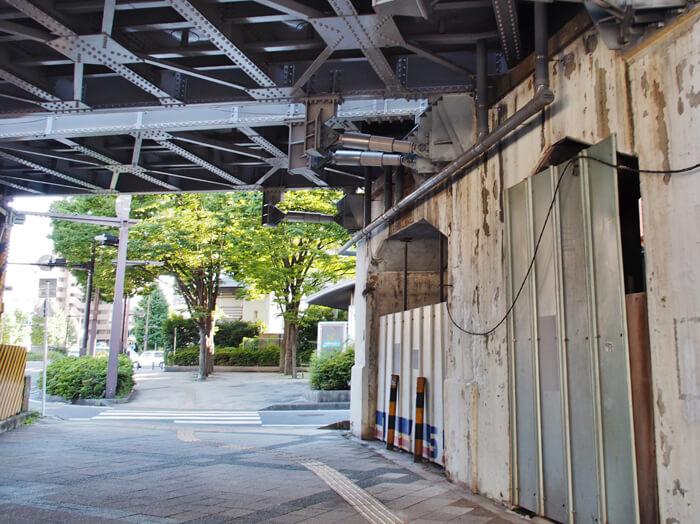 旧東横線高島町駅
