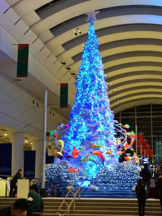 クイーンズスクエア横浜 クリスマス2018