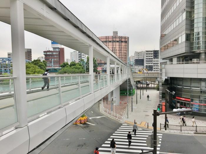 さくらみらい橋(仮称・大岡川横断人道橋)