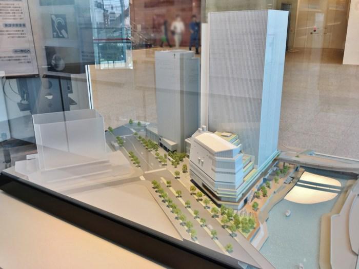横浜市新市庁舎模型