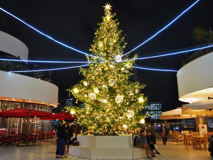 横浜ベイクウォーターのクリスマス