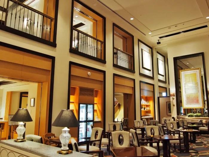 横浜ロイヤルパークホテルのラウンジ