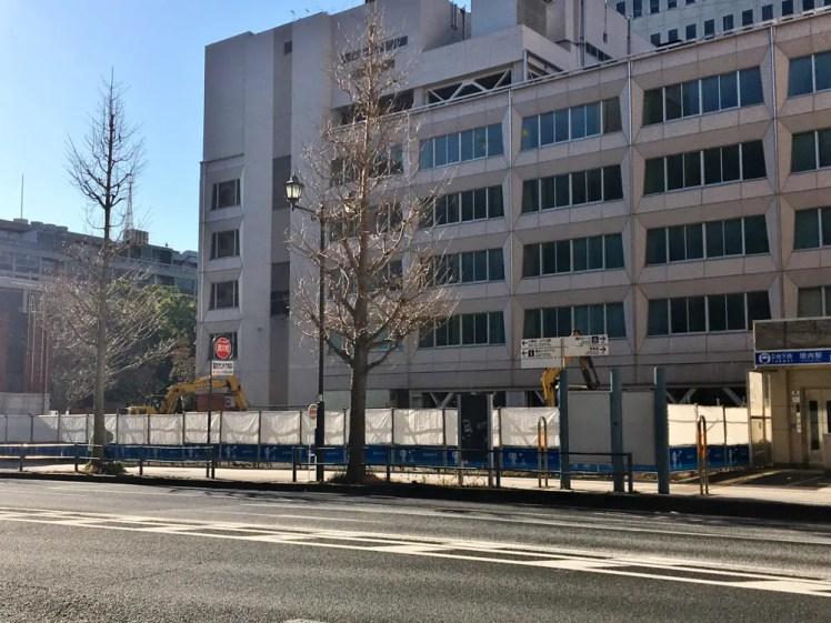 関内駅前港町地区
