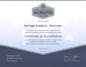 heritage-academy-maricopa_ADVANCED_ED-ACCREDIDATION