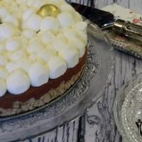 עוגת מוס שוקולד עם בסיס קורנפלקס