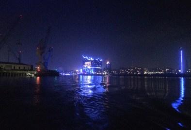 Hamborg blue port