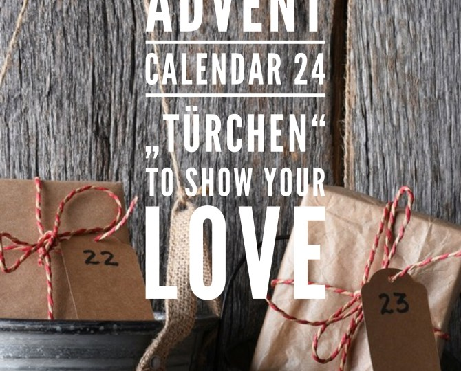 advent calendar last minute created online