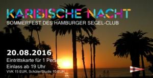 Eintrittskarte Sommerfest