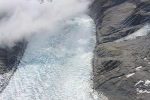 Gletscher am Mount Cook