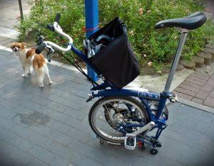noch Übung notwendig, damit das kleine Rad zum Trolley wird