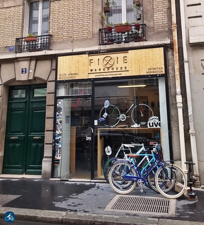 Cycleshop in Paris