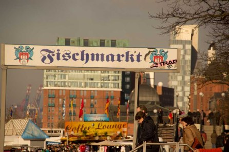 Hamburgern Fischmarkt