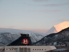 View from my Hotelroom in Tromsoe / Norway 2013