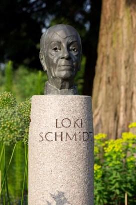 Büste Loki Schmidt