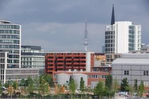 Hafencity und Heinrich Hertz Turm
