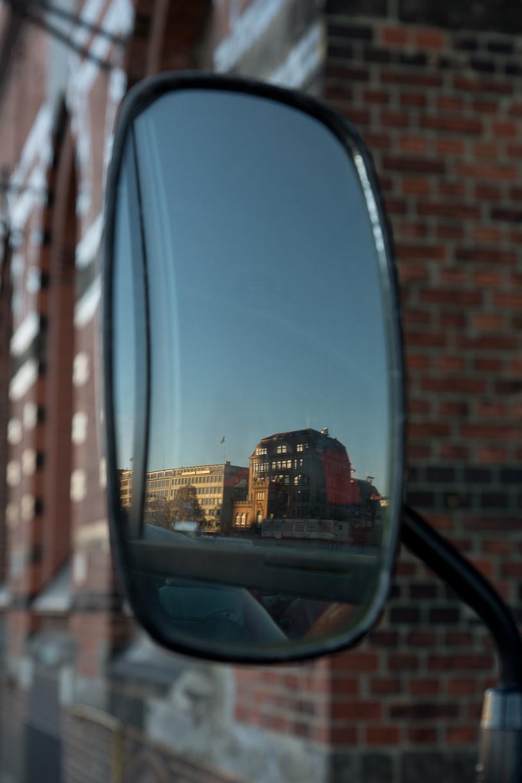 Kajen im Spiegel