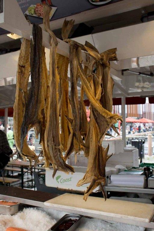 Stockfisch in Bergen