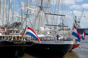 Die Niederländer sind in Hamburg
