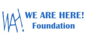 We Are Here Logo