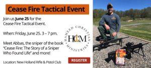 HCM Hameed Christian Cease Fire Event