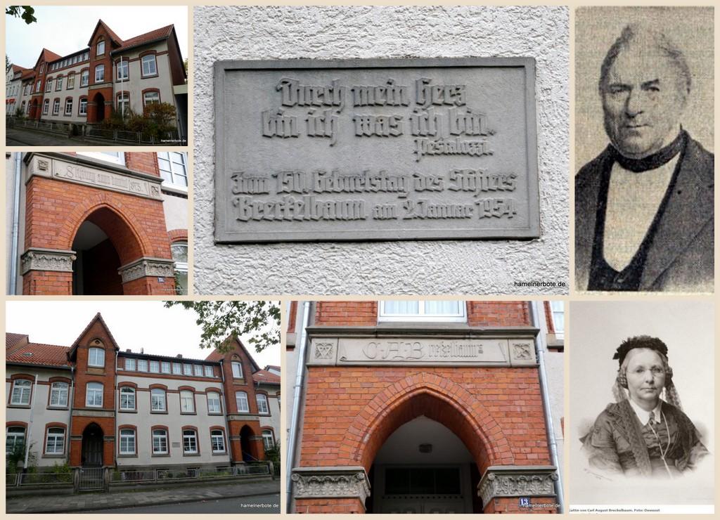 Hausrätsel Hameln oder wer war Karl August Brekelbaum?