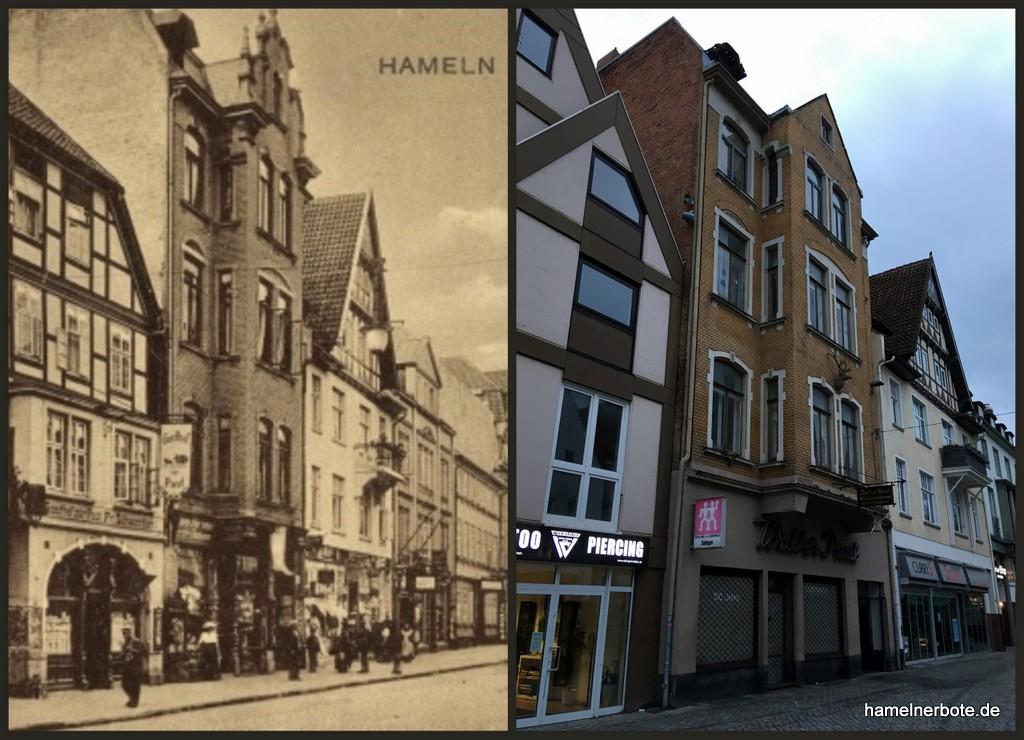 """Haus / Ladengeschäft """"Waffen Paul"""", Osterstraße Hameln"""