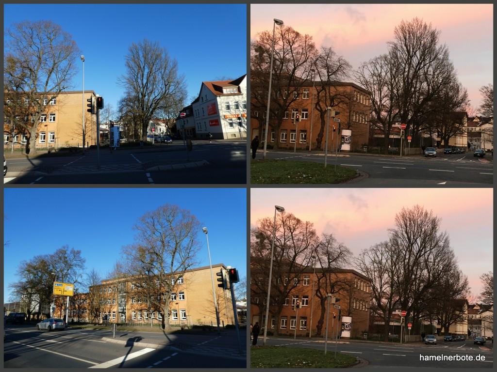 Kleine Stadtbildveränderung Erichstraße im Feb. 2019