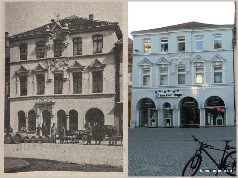 Hausgeschichte: Bäckerstraße 17, Hameln