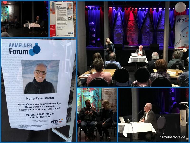 Verlaufsbericht und Lokalgedanken: Game Over – VHS Vortrag mit H.-P. Martin im Lalu im Hefehof
