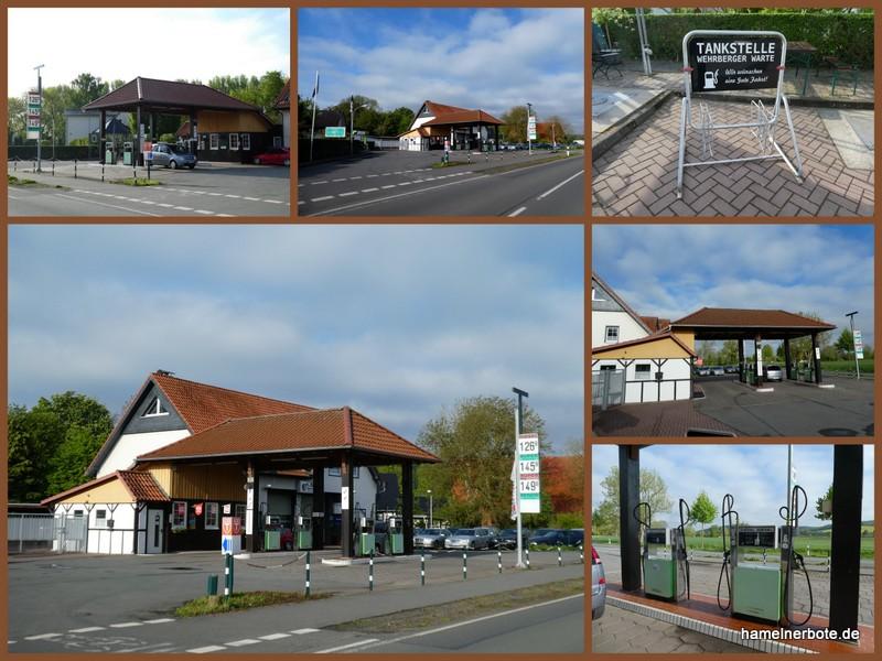Tankstelle Wehrbergen