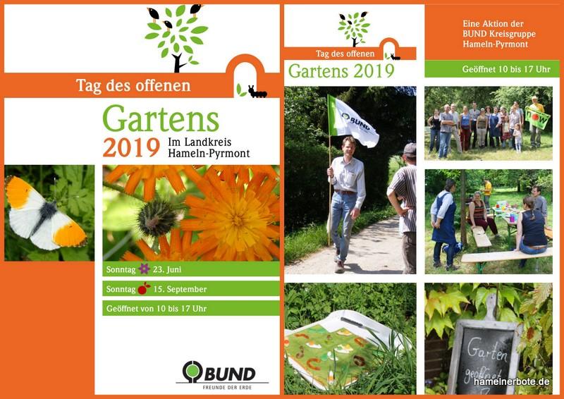 BUND-Gartentage 2019 im Landkreis Hameln-Pyrmont