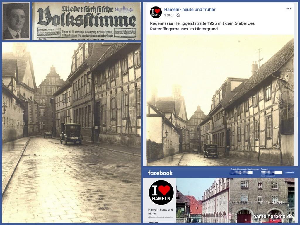 Spannende Facebookseite mit Bildern zur Hamelner Lokalgeschichte