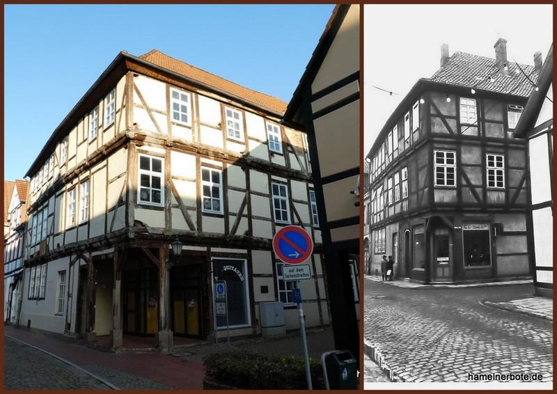 Haus im Wandel: Neue Marktstraße Ecke Kleine Straße in Hameln