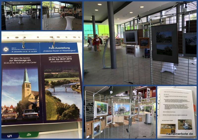 Lokale Fotoausstellung im InfoCenter / Touristinfo